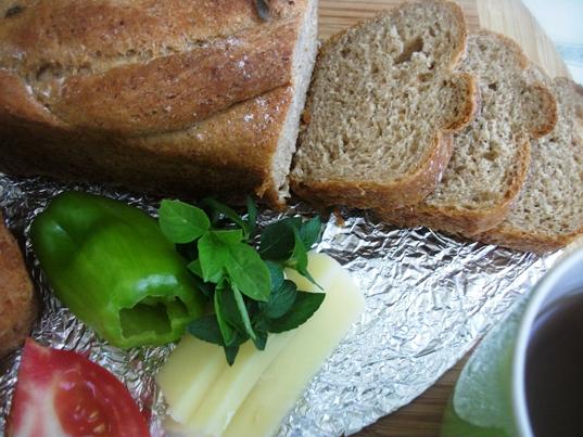Evde Ekmek Kokusu- Bulgurlu Ekmek