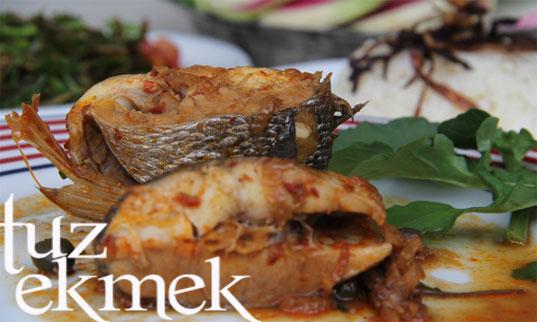 Balık Yahnisi- Kaparili