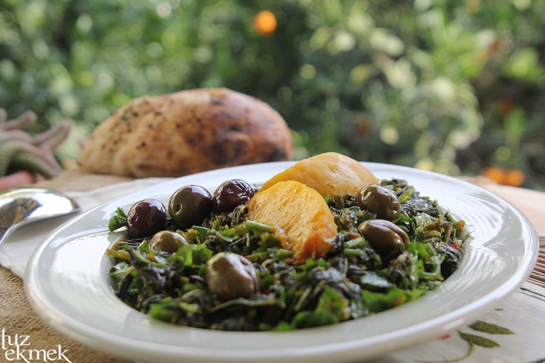 Ebe gümeci salatası