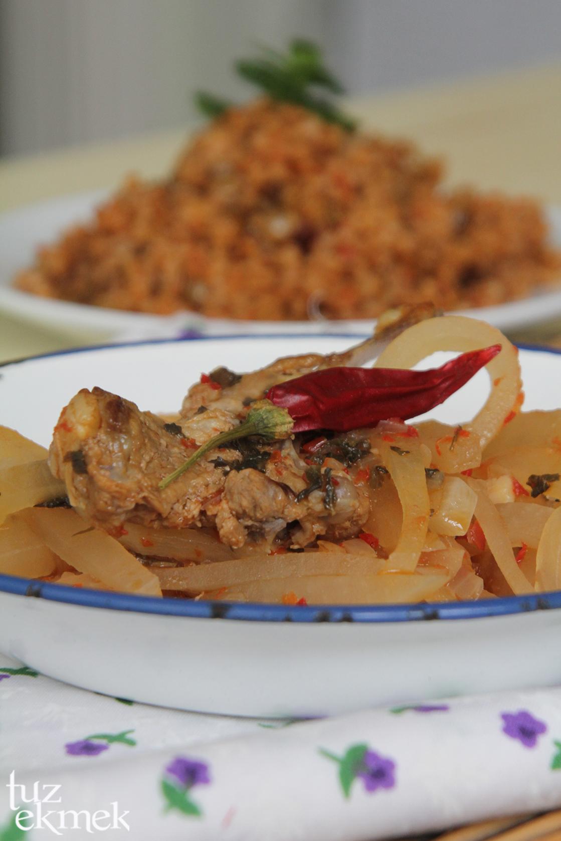 Etli Çortutu Pancarı Yemeği