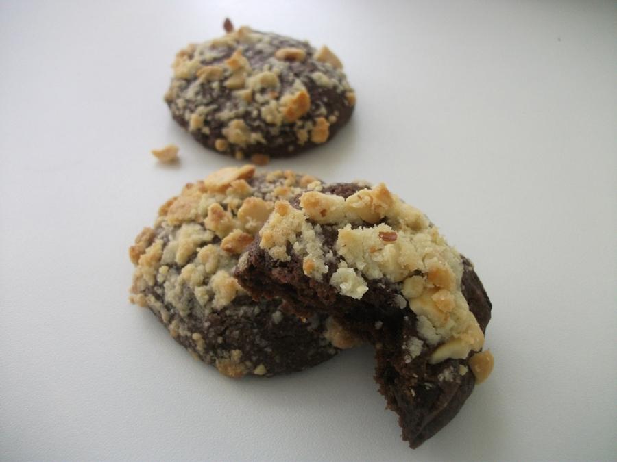 Neşe kokusu- Çikolatalı, Fıstık ezmeli Kurabiye